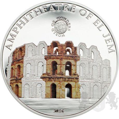 5$ Amphitheatre of El Jem - World of Wonders