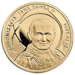 2 zł Kanonizacja Jana Pawła II