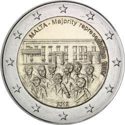 2 Euro Reprezentacja Większości - Malta