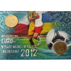 2 zł 1 hrywna Mistrzostwa Europy w Piłce Nożnej w Polsce i na Ukrainie 2012