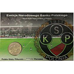 2 zł Polskie Kluby Piłkarskie - Polonia Warszawa