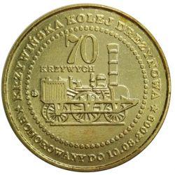 70 Krzywych Krzywińska Kolej Drezynowa 2009