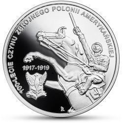 10 zł Czyn Zbrojny Polonii Amerykańskiej - 100-lecie
