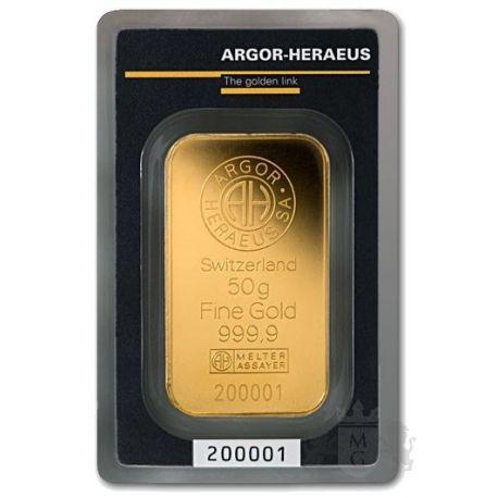 Sztabka Złota 50 g