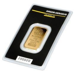 Gold Bar Argor-Heraeus 10 g