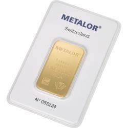 Sztabka Złota 1 oz Metalor