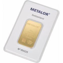 Sztabka Złota Metalor 20 g