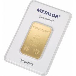 Sztabka Złota Metalor 50 g
