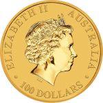 100$ Australijski Kangur 1 oz Au 2018