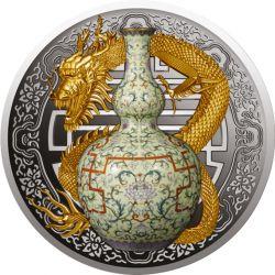 1$ Waza Qianlong - Najdroższa Waza Świata II