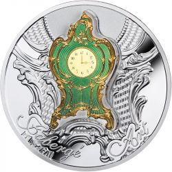 1$ Carski Zegar Gabinetowy - Faberge