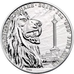 2£ Trafalgar Square - Krajobrazy Wielkiej Brytanii