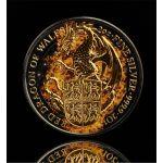 5£ Burning Dragon - Queen's Beasts