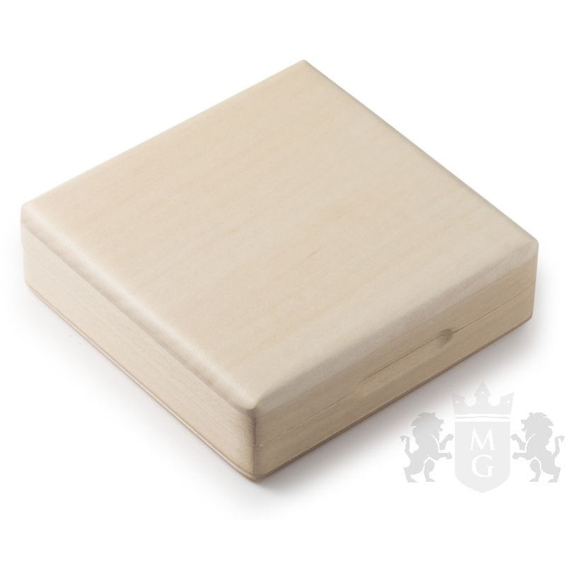 25 mm Wooden Box Bright