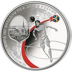 3 Ruble Soczi, FIFA Mistrzostwa Świata w Piłce Nożnej Rosja 2018