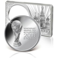 3 Rubles FIFA World Cup Russia 2018