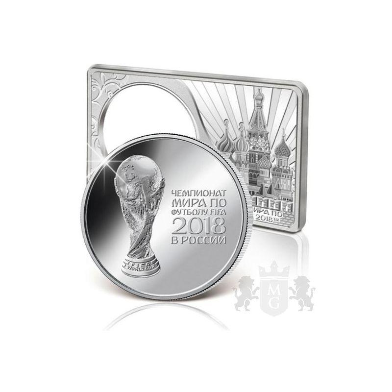3 Rubles FIFA World Cup Russia 2018