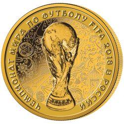 50 Rubli FIFA Mistrzostwa Świata w Piłce Nożnej Rosja 2018
