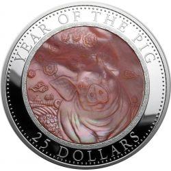 25$ Rok Świni - Macica Perłowa