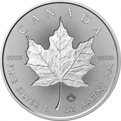5$ Liść Klonowy, Incuse