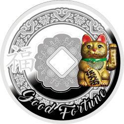500 Franków Kot Szczęścia - Symbole Feng Shui