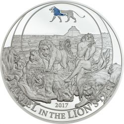2$ Daniel w Jaskini Lwów - Historie Biblijne