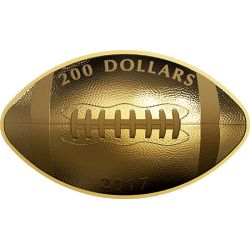 200$ Football Shaped Coin
