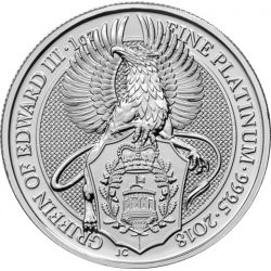 100£ Gryf - Bestie Królowej Platyna