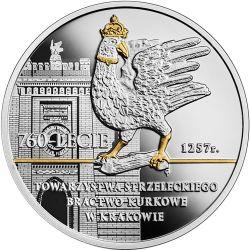 10 zł Bractwo Kurkowe w Krakowie - 760. rocznica Towarzystwa Strzeleckiego