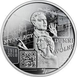 10 zł My Polacy Dumni i Wolni: 1918-2018