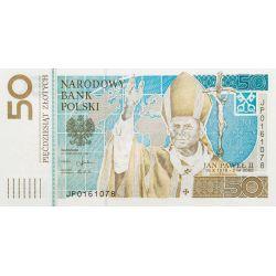 50 zł Jan Paweł II