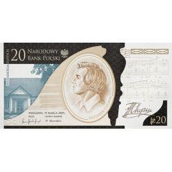 20 zł Fryderyk Chopin, 200. Rocznica Urodzin