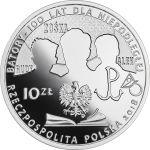 10 zł Gimnazjum i Liceum im. Stefana Batorego w Warszawie, 100-lecie powstania