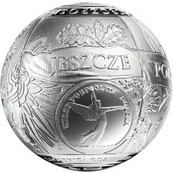 100 zł Silver Ball - 100th Anniversary of Regaining Independence by Poland