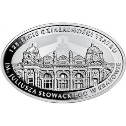 10 zł Teatr im. Juliusza Słowackiego w Krakowie, 125-lecie działalności