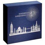 2000 Francs London Eye - Landmarks at Night