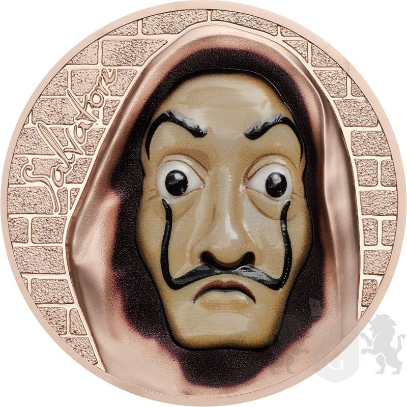 5$ Salvador Dalí - Rewolucyjne Maski