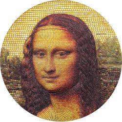 20$ Mona Lisa, Leonardo da Vinci - Mozaika