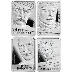 10 zł Piłsudski, Haller, Dmowski, Paderewski