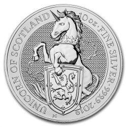 10£ Jednorożec Szkocji - Bestie Królowej