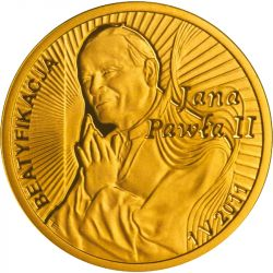 100 zł Beatyfikacja Jana Pawła II - 1 V 2011