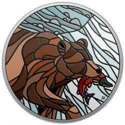 20$ Niedźwiedź Grizzly - Mozaiki Kanadyjskie