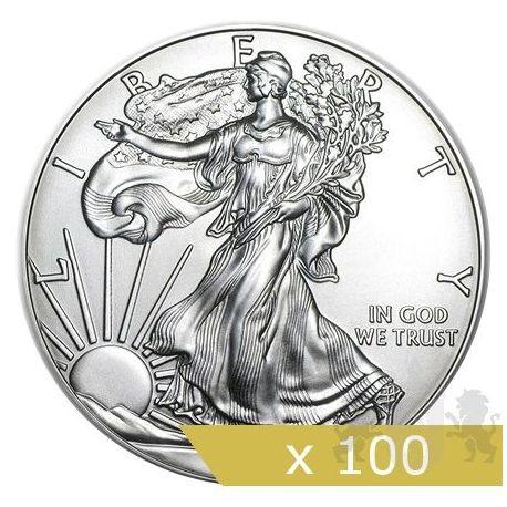 1$ Amerykański Orzeł x 100 sztuk