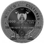 2000 Francs Kapala - Kultury Świata