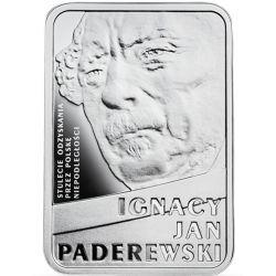 10 zł Ignacy Jan Paderewski - Stulecie Odzyskania przez Polskę Niepodleglości