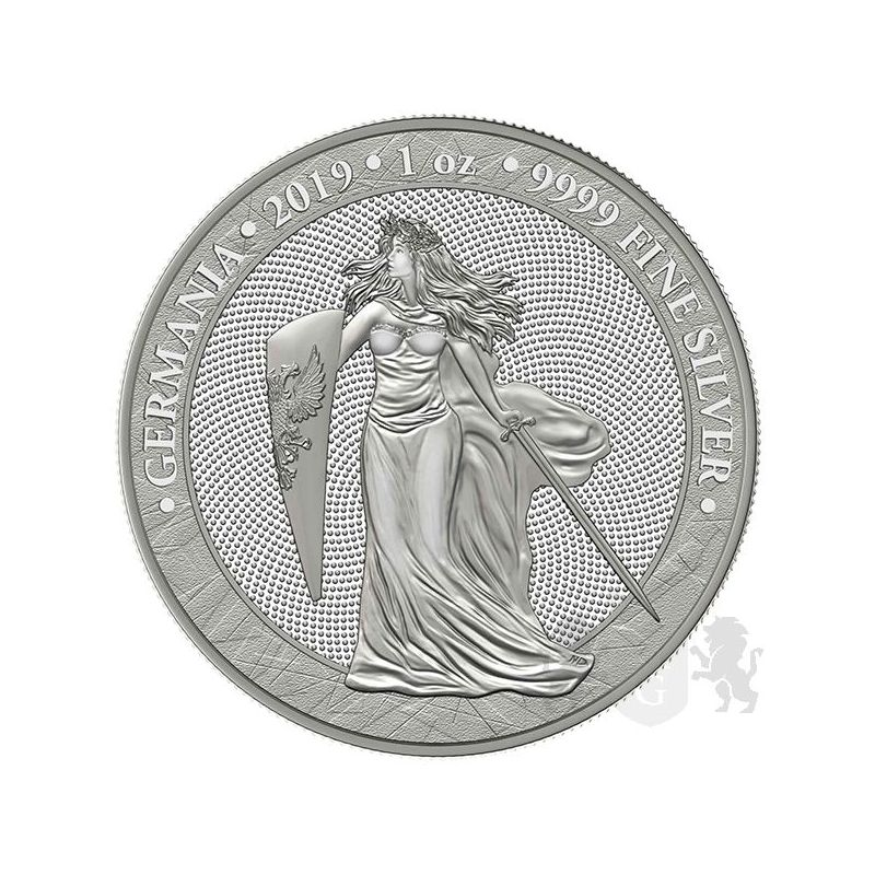 5 Marek Germania 1 Oz Ag 999 2019