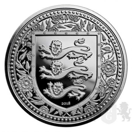 1£ Królewski Herb Anglii