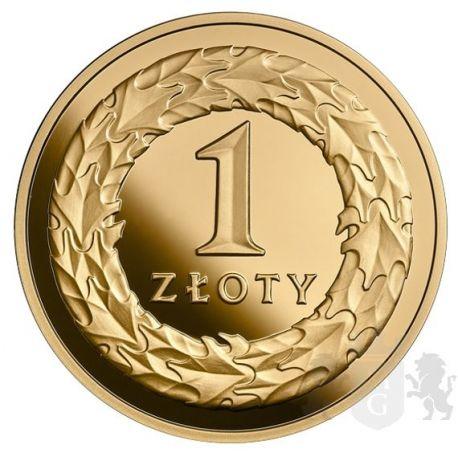 1 zł Złotówka - 100. Rocznica Odzyskania przez Polskę Niepodległości