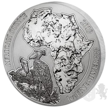 50 Francs Trzewikodziób