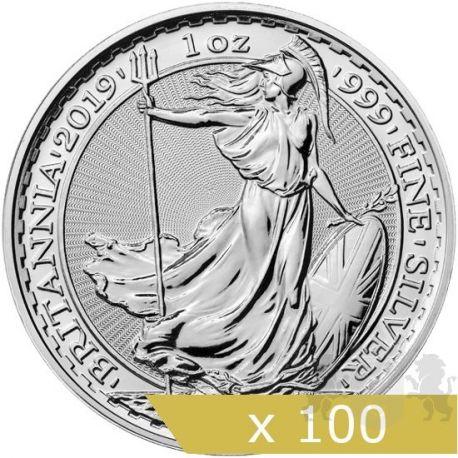 2? Britannia 2019 x 100 sztuk